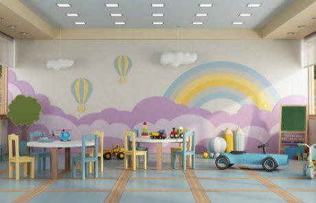 בנייה ועיצוב גני ילדים