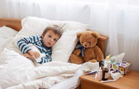 ילד חולה חובת הגננת לשלוח אותו הביתה