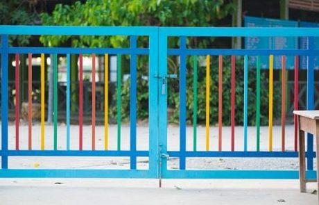 שערים נעולים עם מנעול גבוה וקשה לפתיחה