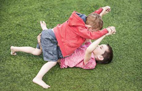 האם ללמד את הילדים להחזיר לילדים מציקים ואיפה הגבול?