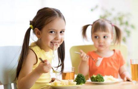 מזון נקי ומופרד – כלל ברזל לשמירה על בריאות הילדים בגן